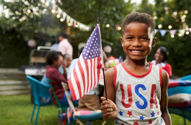 USA Independence Day Flag Photos